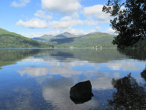 Loch Lommond, Scotland stock photo