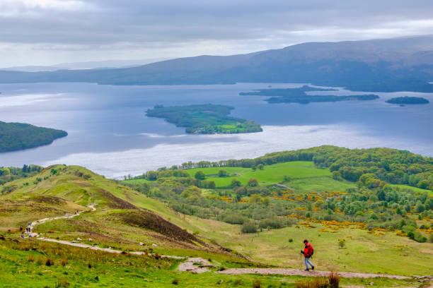 Loch Lomond and The Trossachs National Park - Scotland stock photo
