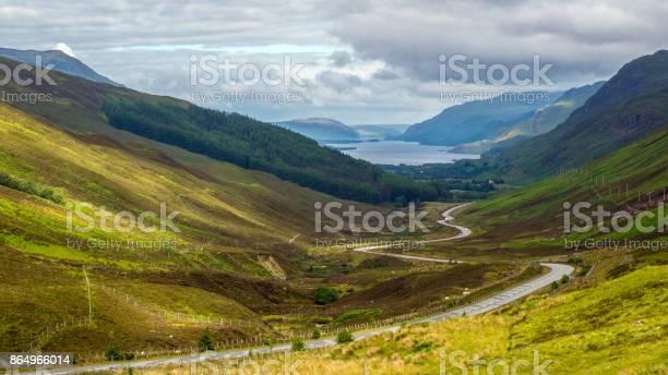 Photo of Loch Maree from Glen Docherty