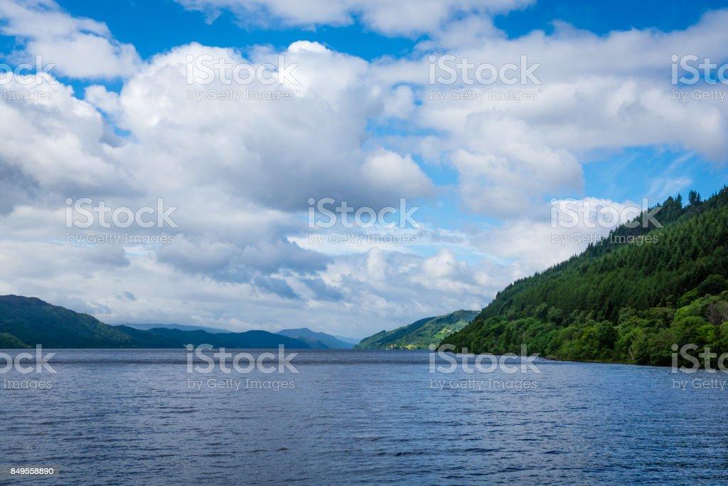 Loch Ness, Inverness stock photo