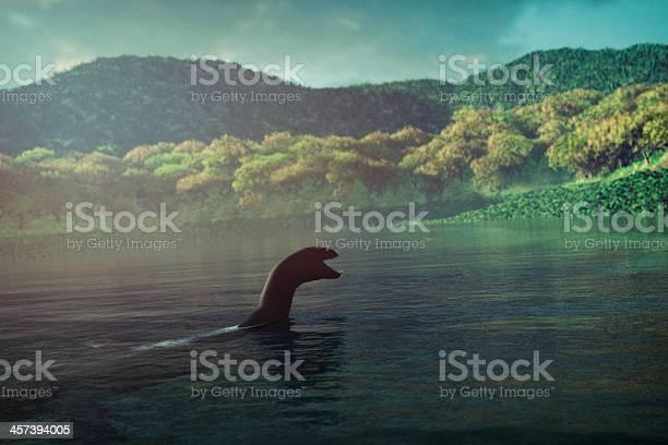 Loch ness monster swimming in the lake picture id457394005?b=1&k=6&m=457394005&s=612x612&h=pqnqjqnexuki3zf5xzr56enotyioqylwtbjanehx2mq=