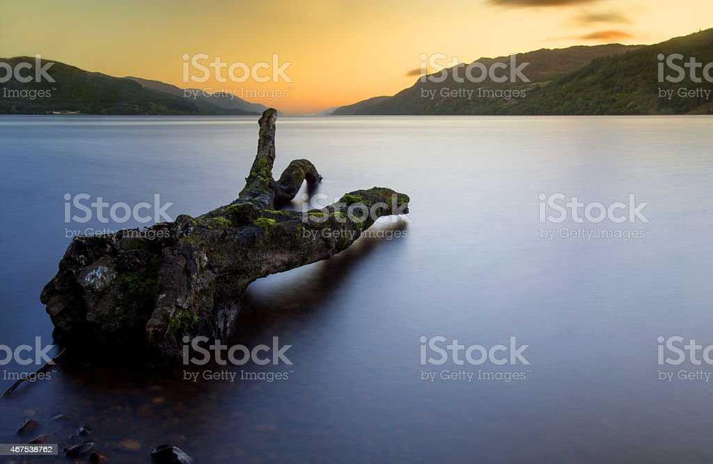 Loch Ness stock photo