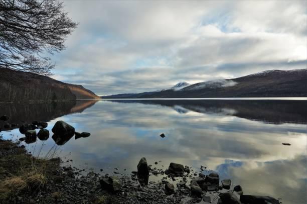 Loch Rannoch stock photo