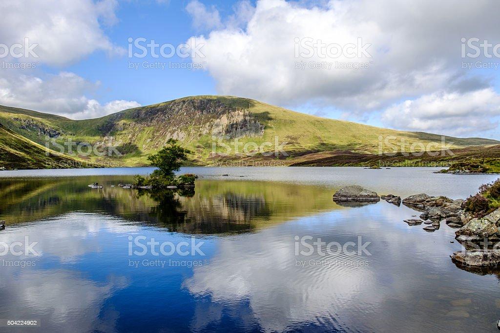 Loch Skeen (Lake), White Coomb, Scotland stock photo