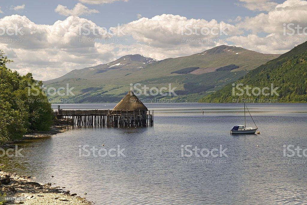 Loch Tay royalty-free stock photo