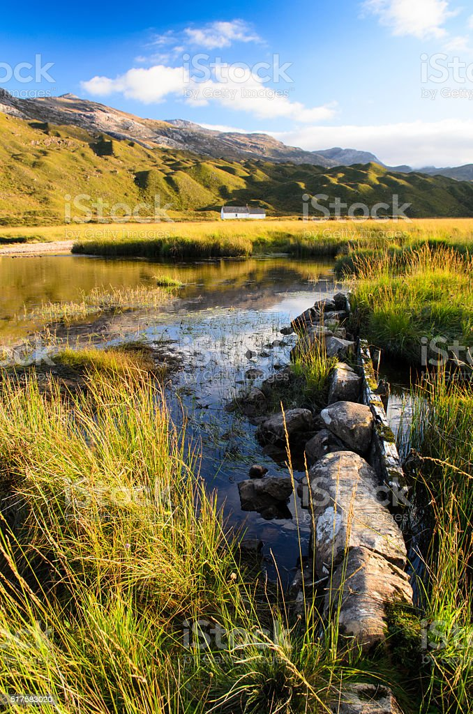 Lochan an Iasgair stock photo