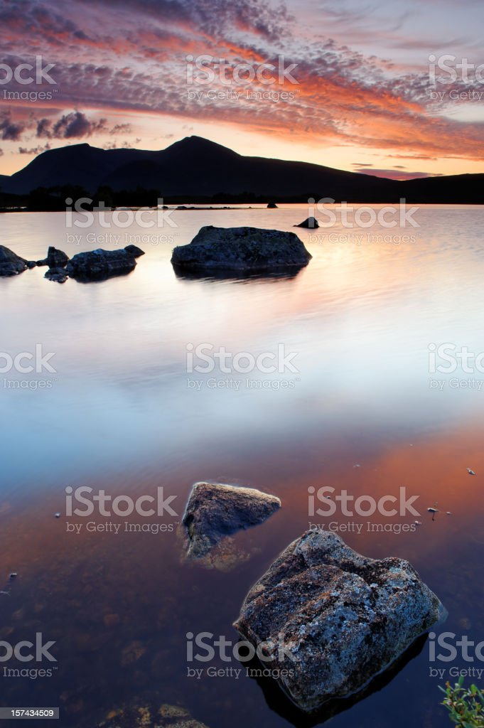 Lochan na h'achlaise royalty-free stock photo