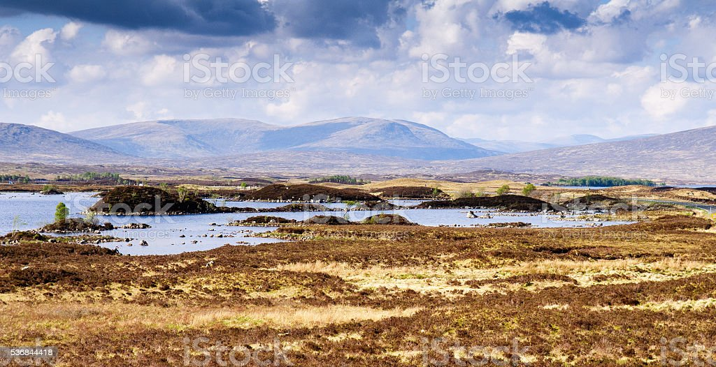 Lochan na h-Achlaise stock photo