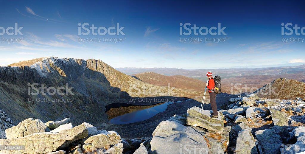 Lochnagar stock photo