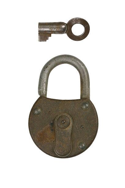 Lock 1 stock photo