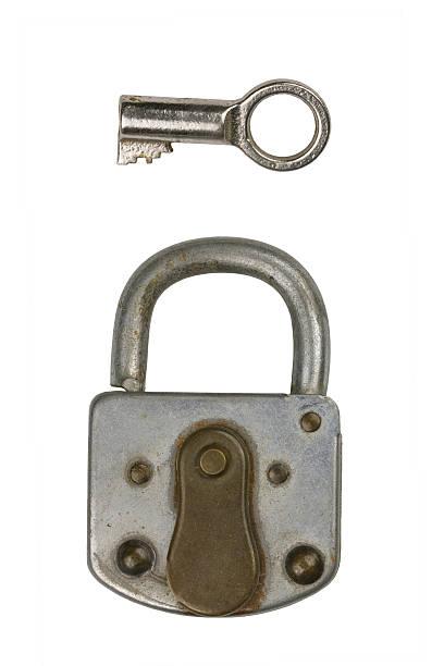 Lock 2 stock photo