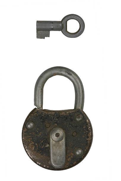 Lock 3 stock photo