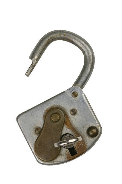 Lock 5 stock photo