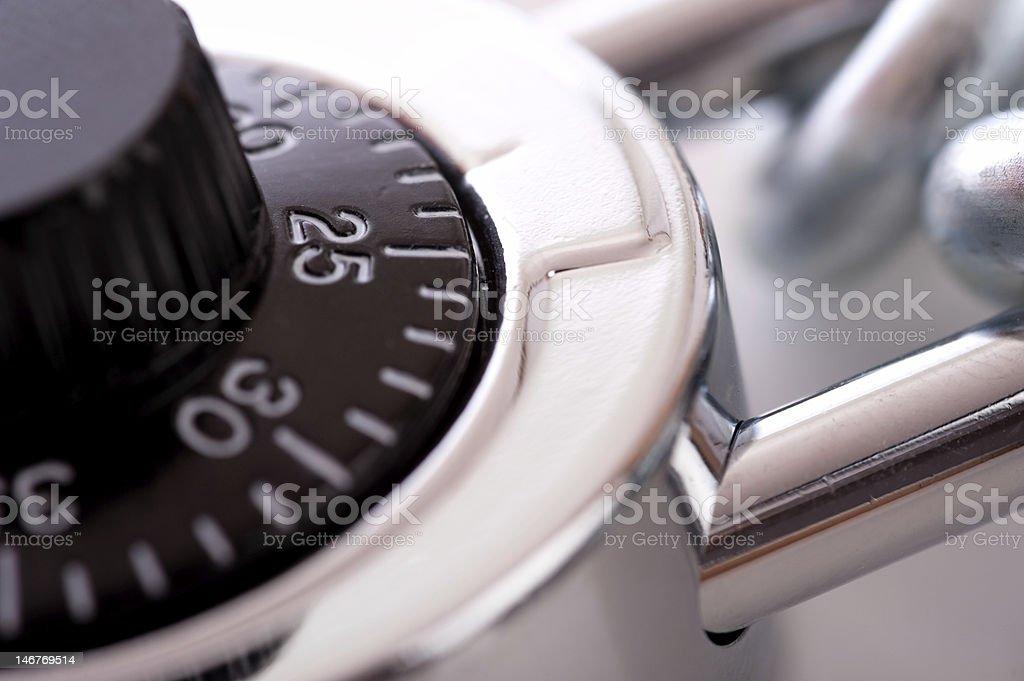 Lock and Chain stock photo