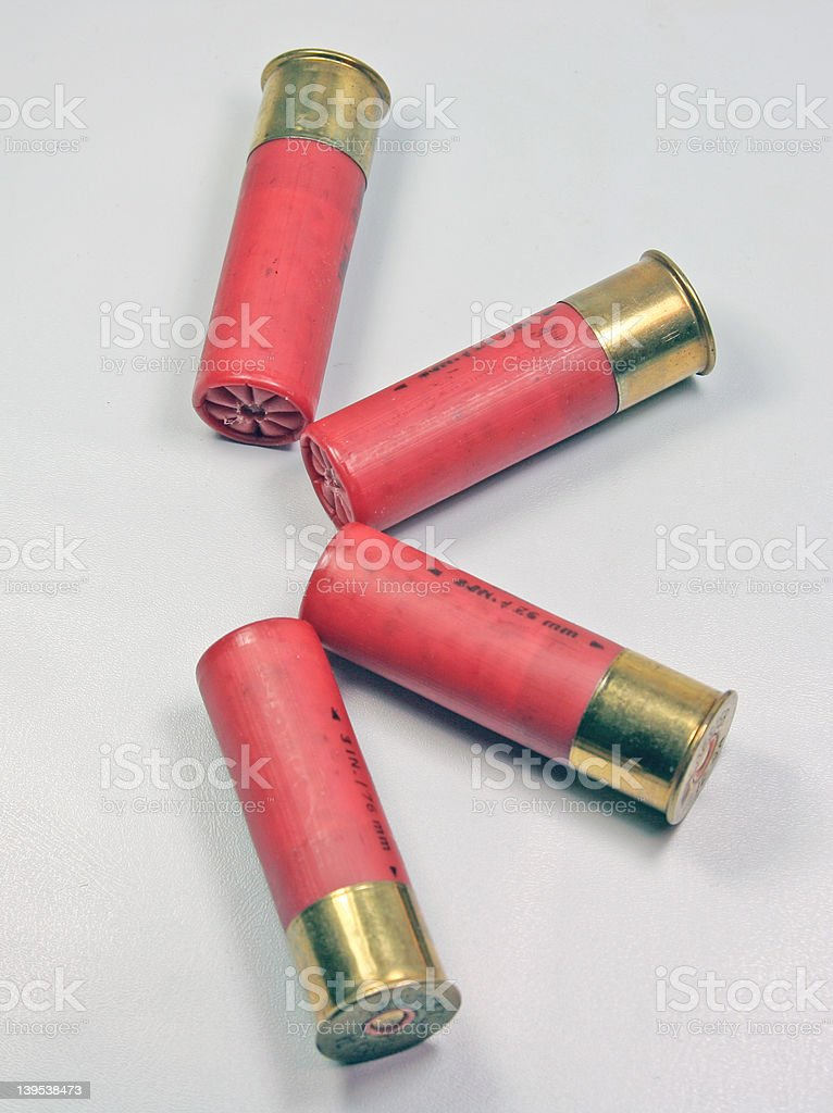Lock and Load royalty-free stock photo