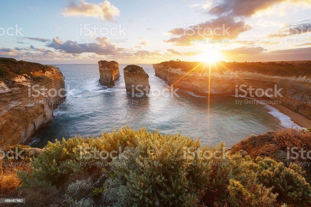 Lock Ard Gorge, Australia stock photo