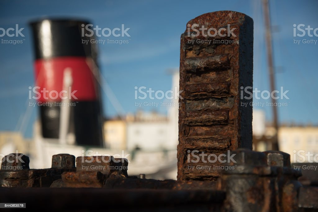 Lock gate and funnel, stock photo