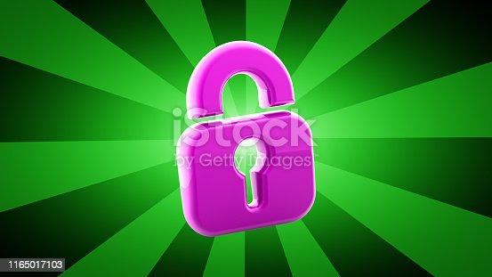 istock Lock icon 1165017103