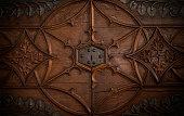Lock in a old chest door