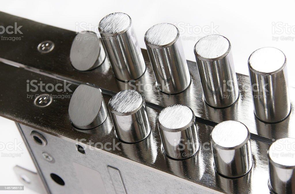 lock mechanism royalty-free stock photo