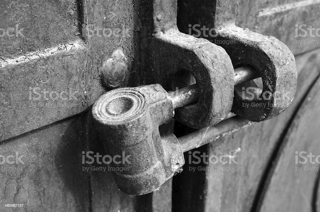 Lock old royalty-free stock photo