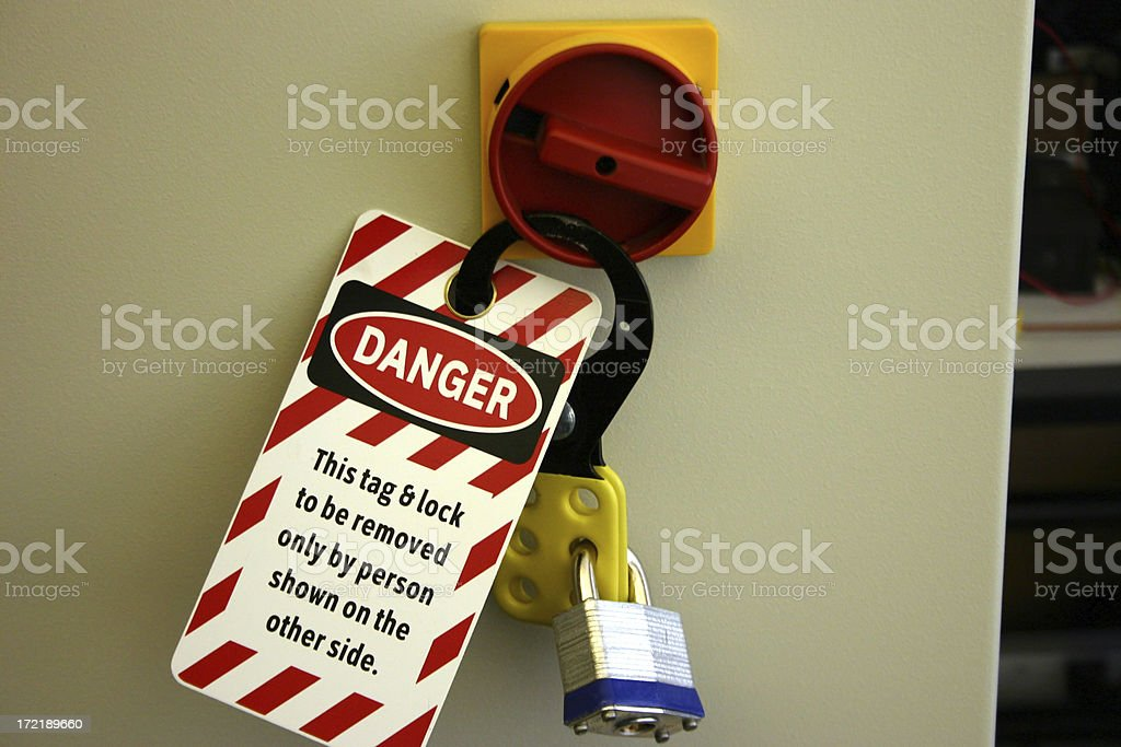 Lock Out Tag Out Lock Out Tag OutRelated Safety Images: Business Stock Photo