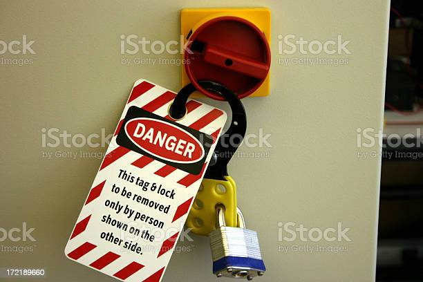 Lock Out Tag Out Stock Photo - Download Image Now