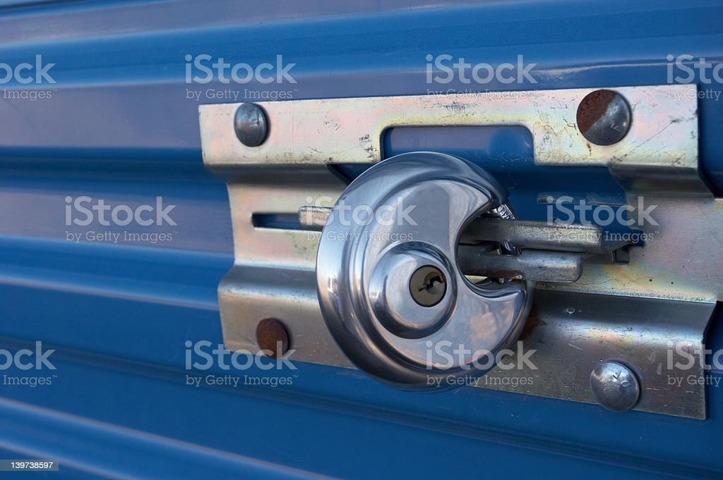 Lock stock photo