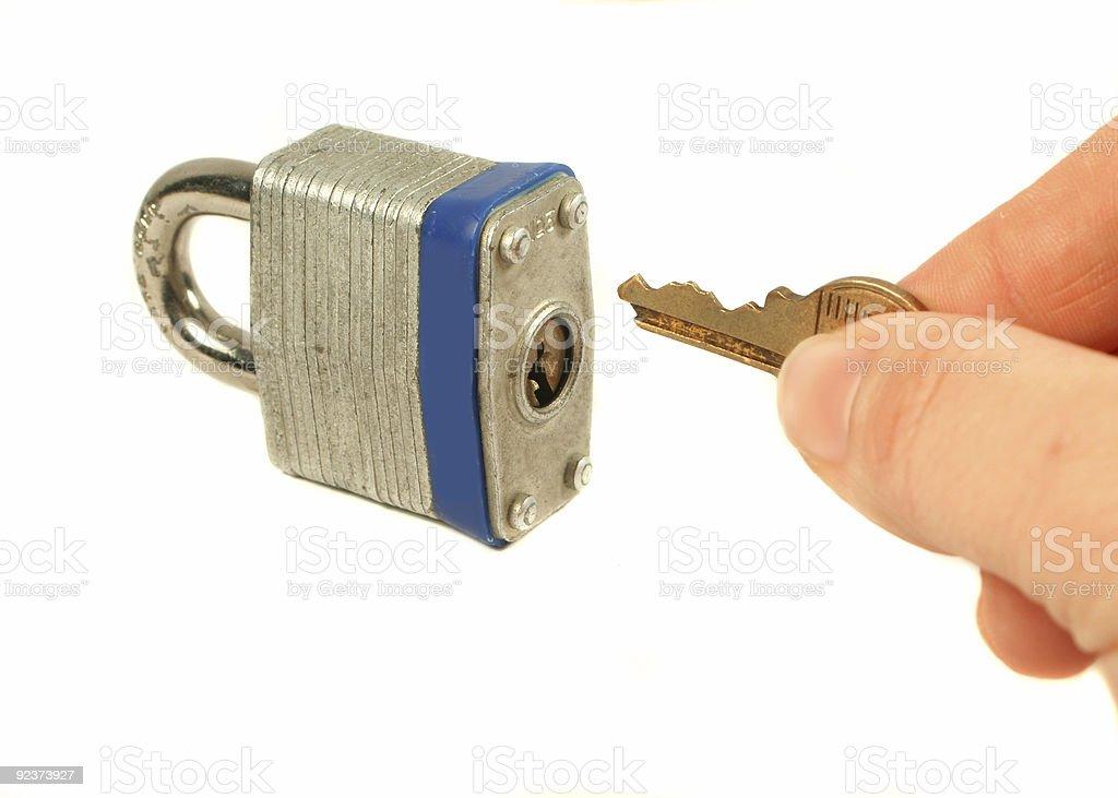 lock royalty-free stock photo