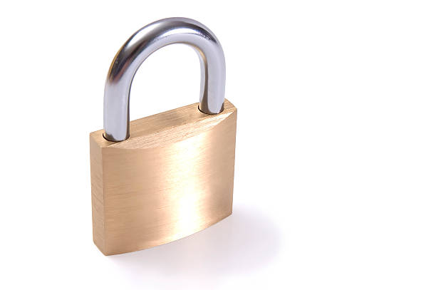 Lock (with clipping path – Foto