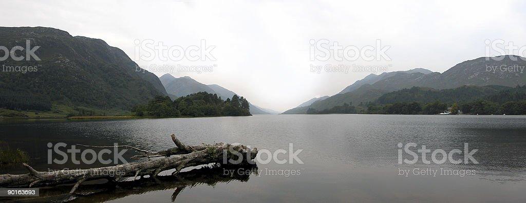 Lock shiel from Glenfinnan stock photo
