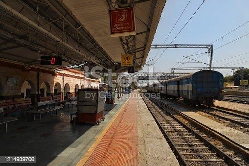 istock Lockdown Indian railways 1214939706