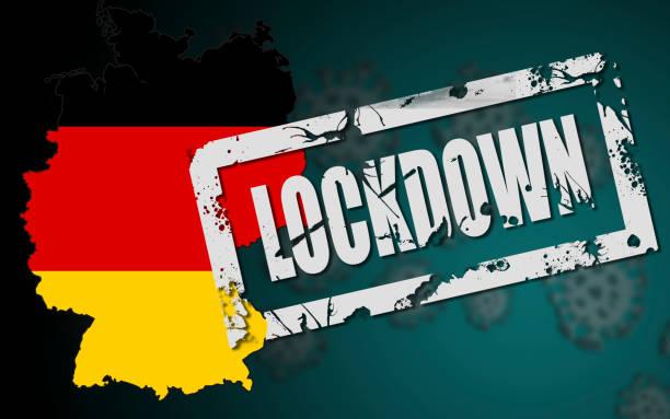 sperrung deutschlands wegen coronavirus covid-19 - standbildaufnahme stock-fotos und bilder