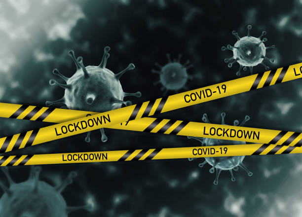 COVID-19 Lockdown Lockdown implemented due to Coronavirus (COVID-19) pandemic. lockdown stock pictures, royalty-free photos & images