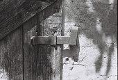 istock Locked door 1253256336