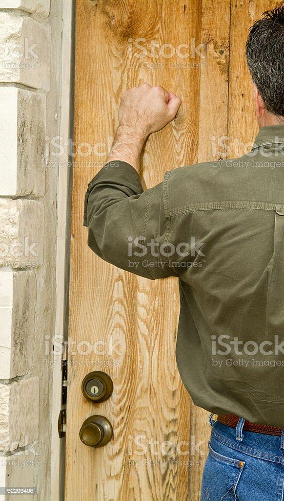 Locked Door royalty-free stock photo