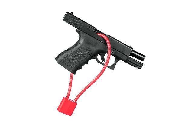 Locked firearm