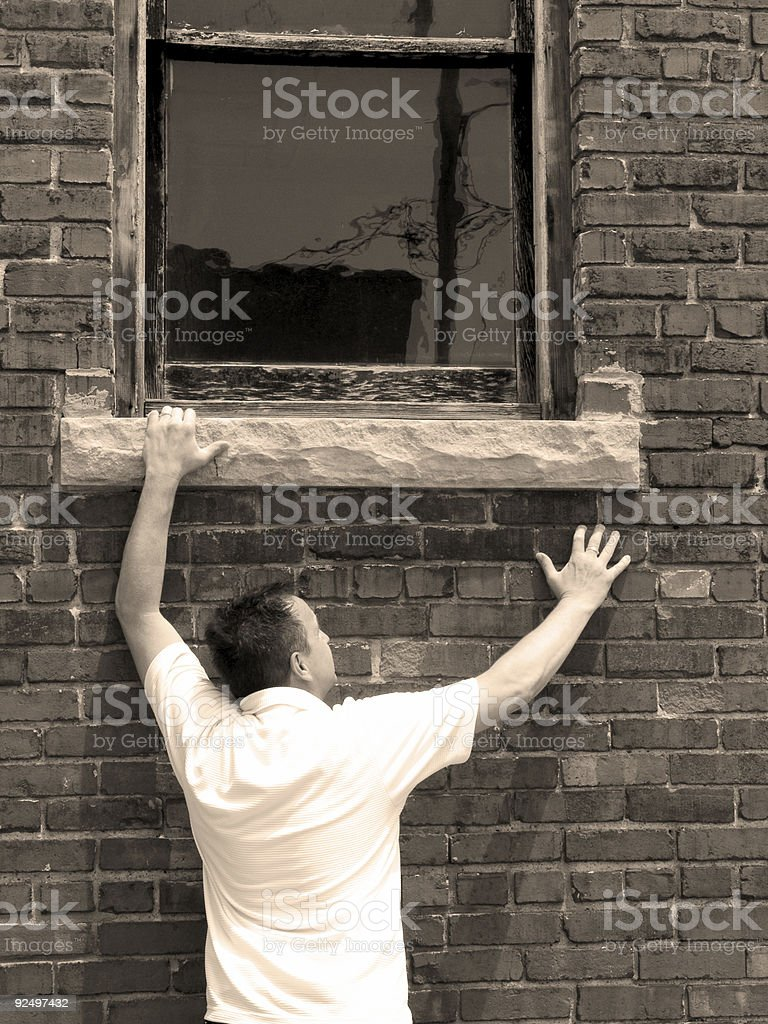 locked out royalty-free stock photo