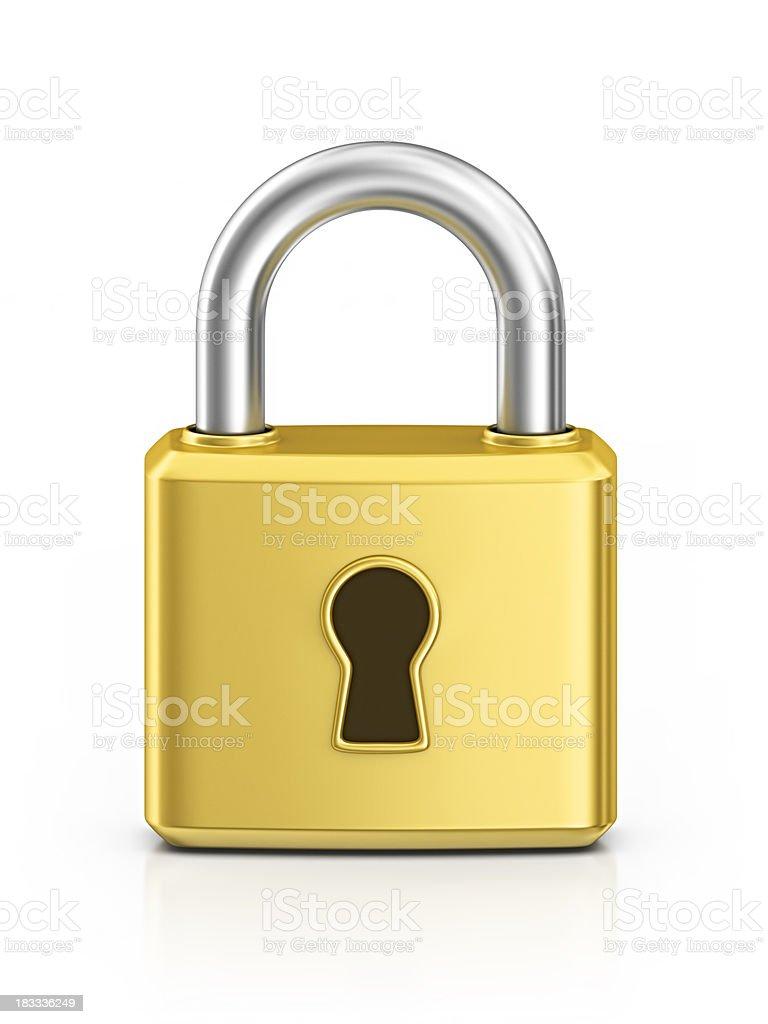 locked padlock stock photo