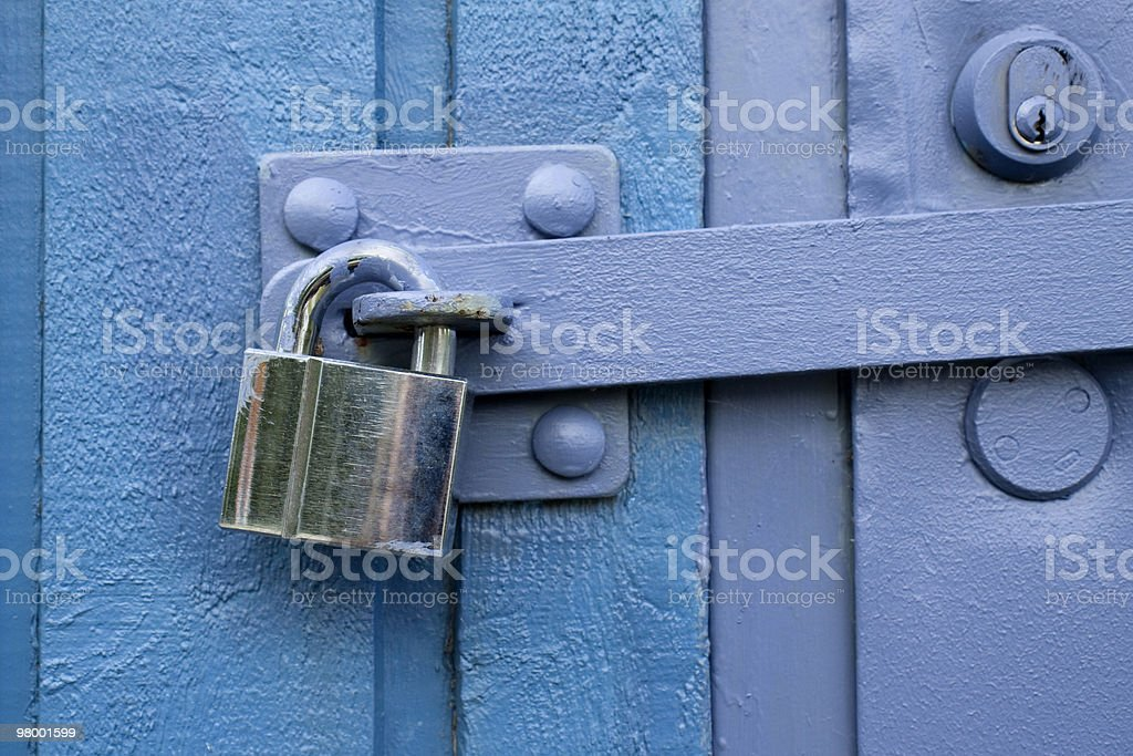 Locked up royalty free stockfoto