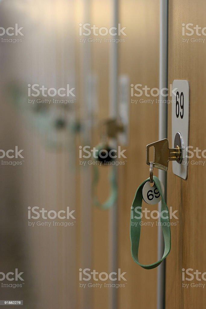 locker 69 royalty-free stock photo