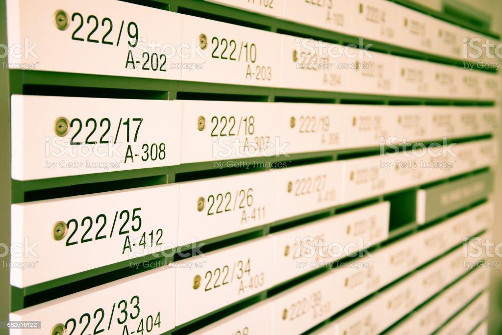 Locker royalty-free stock photo