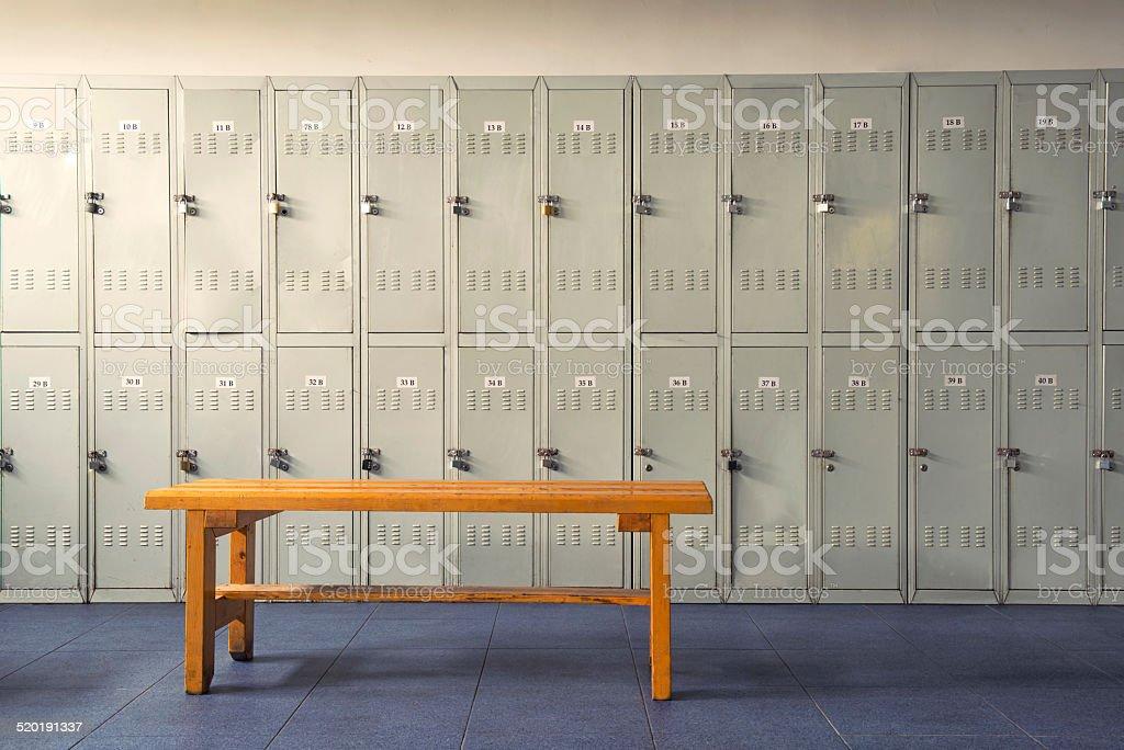 Umkleideraum Room - Lizenzfrei Fotografie Stock-Foto