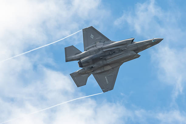 Lockheed Martin F-35B stock photo