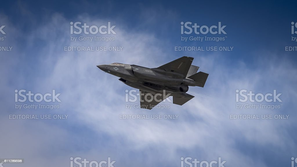 Lockheed Martin F35B - foto de stock