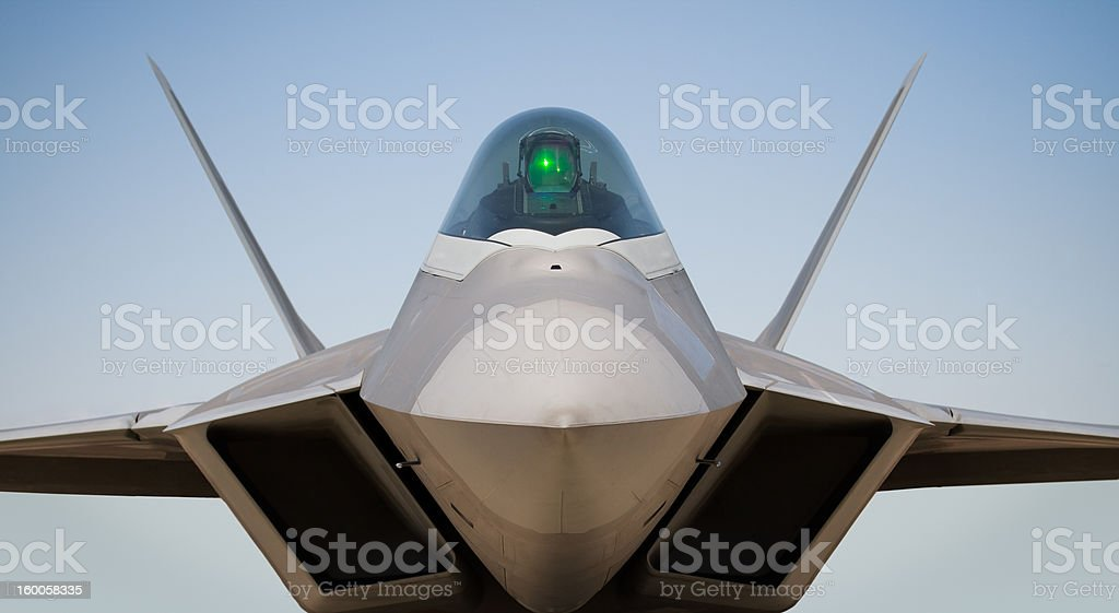 Lockheed Martinboeing F22 Raptor Stock Photo More Pictures Of