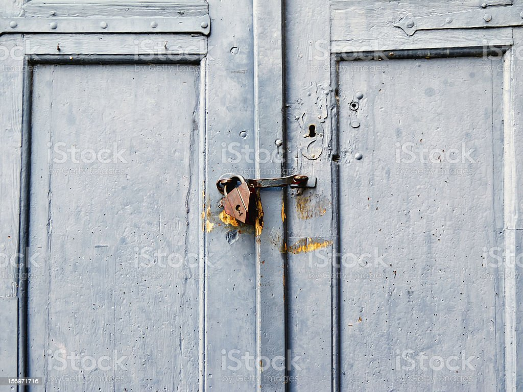 Locking device royalty-free stock photo
