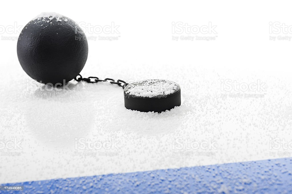 NHL Lockout royalty-free stock photo
