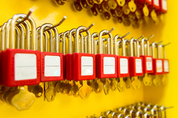 Lockout Tagout Lockout Tagout lockout stock pictures, royalty-free photos & images