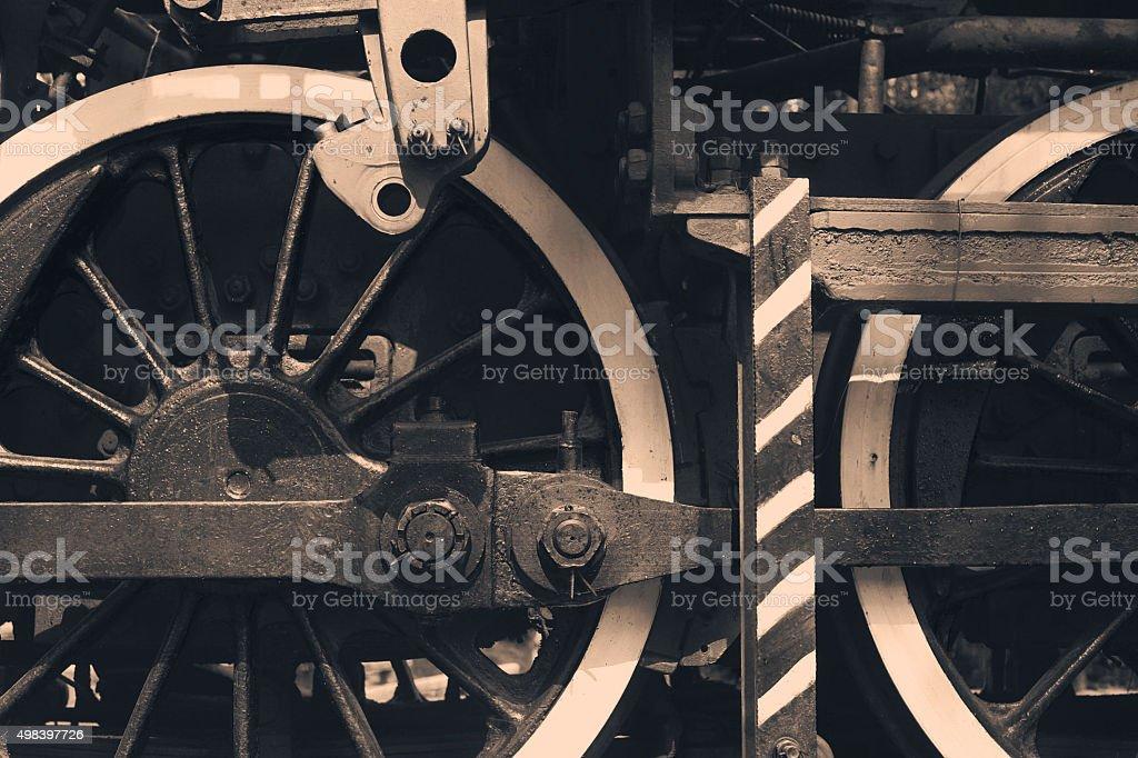 Locomotive Detail stock photo